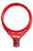 Masterlock 8229 Cykellås 12 mm x 900 mm röd